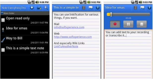 Notepad Apps 2019