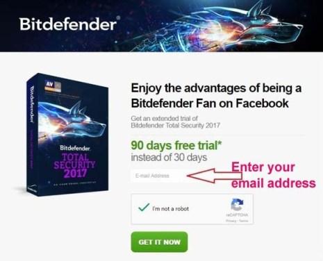 Bitdefender Total Security 2019 License Key 100% Free for 90