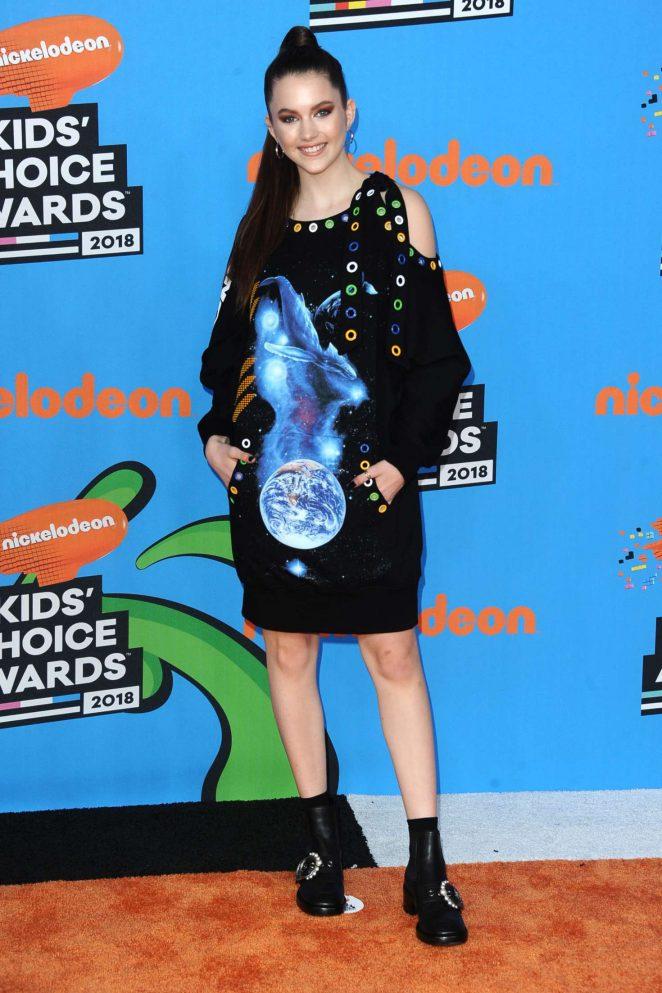 Chloe East – 2018 Nickelodeon Kids' Choice Awards in Los Angeles