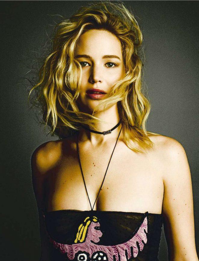 Jennifer Lawrence – Fashion Arts Spain Magazine (March 2018)