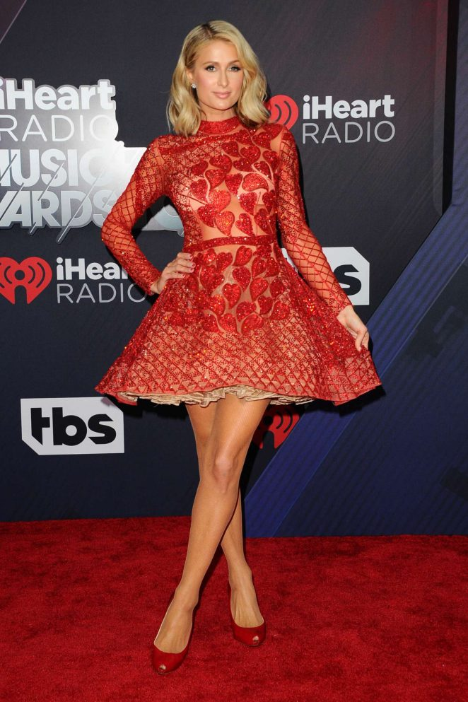 Paris Hilton – 2018 iHeartRadio Music Awards in Inglewood