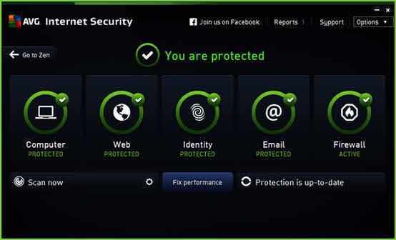 AVG Internet Security 2018 License Key Free Download for 1Year