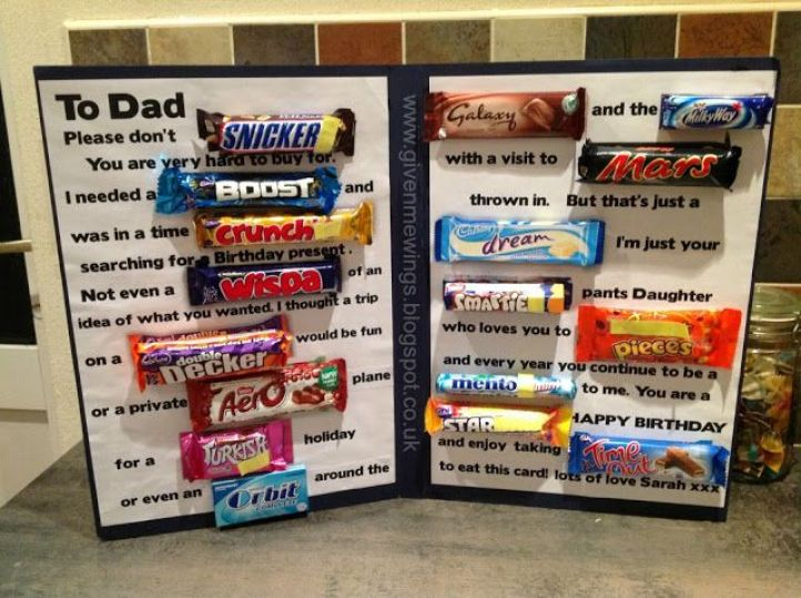 Happy Fathers Day Homemade Sweet Gifts Free