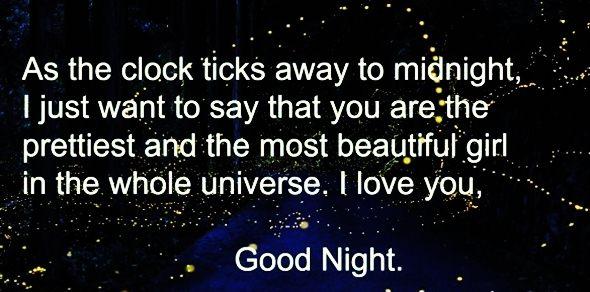 Good Night Love Wishes Him