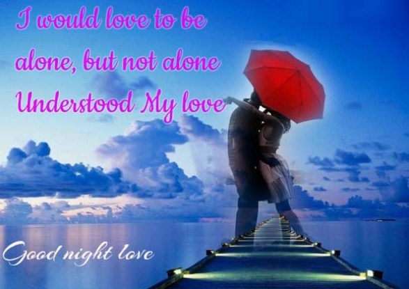 Good Night Love Wishes Message