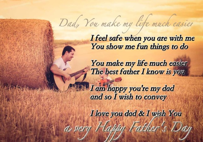 Happy Father's Day Poems for Facebook