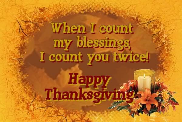 Happy Thanksgiving Wishes 2018 Pictures, Images for Friends