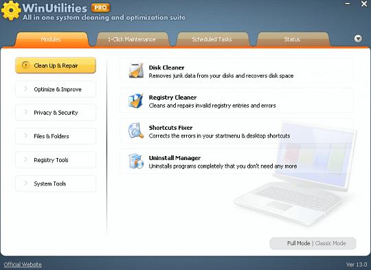 WinUtilities Pro 15 License Code 2020 Serial Free Download