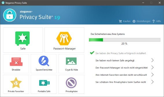 Steganos Privacy Suite 19 License Key Free Download Full Version