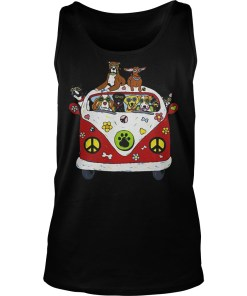 Hippie Car and dogs Tank top