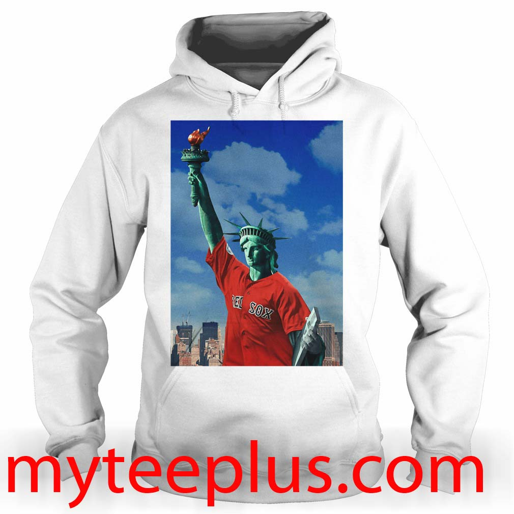 Red Sox Statue of liberty Hoodie