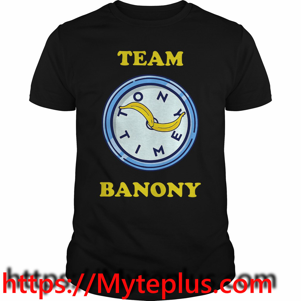 Team Banony shirt