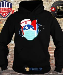 Apple Nurse Tennessee Flag Covid-19 s Hoodie