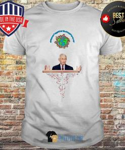 Dr Anthony Fauci Medical Caduceus Alone Together But Not Forever shirt