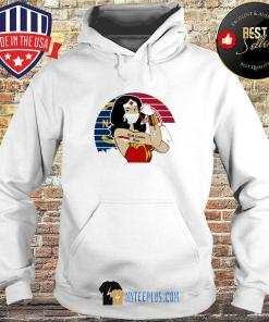 Wonder Woman Tattoos North Carolina Nurse Vintage Covid-19 s Hoodie
