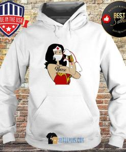 Wonder Woman Tattoos Nurse Covid-19 s Hoodie