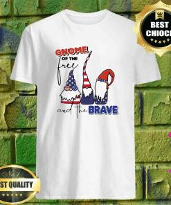 Gnome of the Free and the Brave shirt