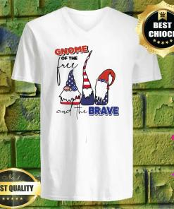 Gnome of the Free and the Brave v neck