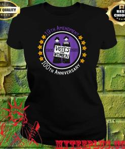 19th Amendment XIX Suffragette 100 years Anniversary Feminist women's T-shirt