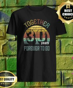 30 years wedding anniversary gifts for matching couples 30 t-shirt