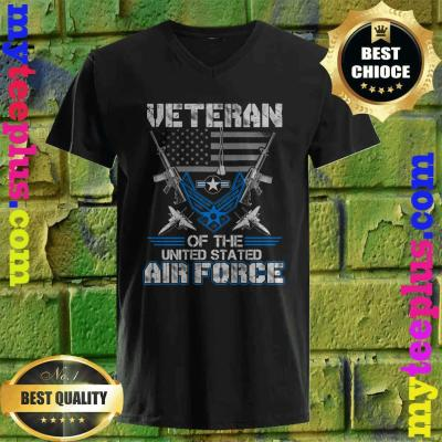 Veteran Of The United States Us Air Force v neck