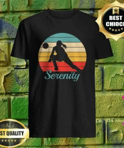 Serenity Personalized Volleyball Shirt