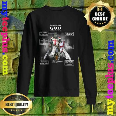 Armor Of God Bible Verse Cool Gift For Religious Christian Sweatshirt