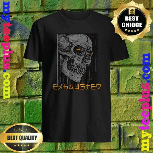 Best Black Skull Exhausted T-Shirt