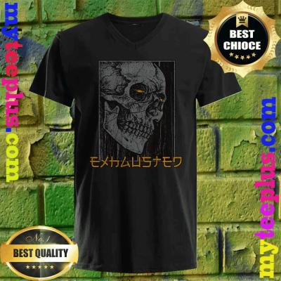 Best Black Skull Exhausted v neck
