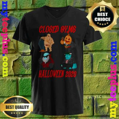 Why Are Mummies Popular In 2020 Halloween Official] Closed Gyms Halloween 2020 Mummy Pumpkin head T Shirt
