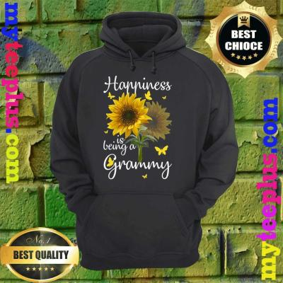 Happiness Is Being A Grammy Sunflower Gift hoodie