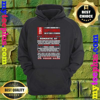 Mens King Was Born In September Virgo Birthday hoodie