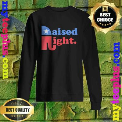Raised Right Republican Elephant Retro Style Distressed Gift Sweatshirt