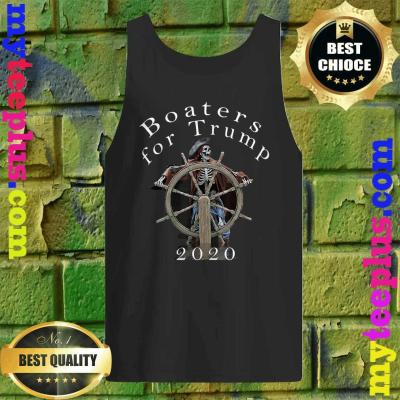 Skull Boaters for Trump 2020 Tank top