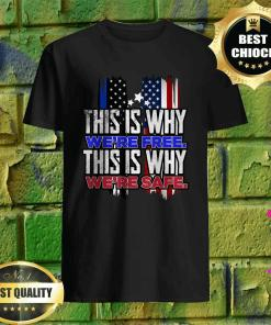 This is why were Free This is why safe shirt