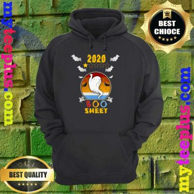 2020 Boo Sheet 1 Star Rating Funny Ghost Halloween Gift hoodie