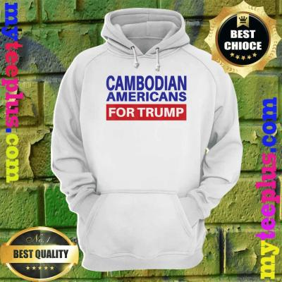 Cambodian Americans For Trump - Election 2020 Republican hoodie