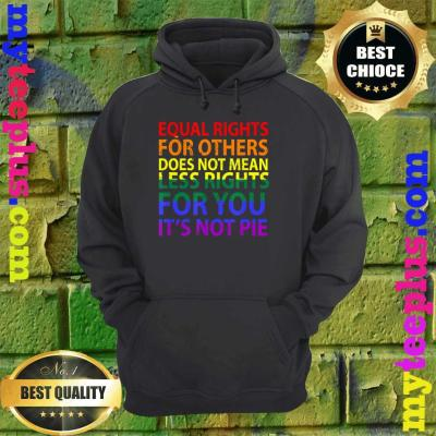 Equal rights for others does not mean less right for you hoodie