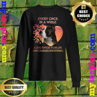 Every Once In A While American Pit Bull Terrier Sweatshirt