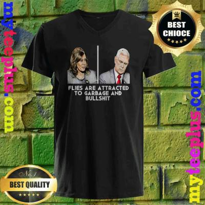 Funny Debates Mike Pence Fly v neck