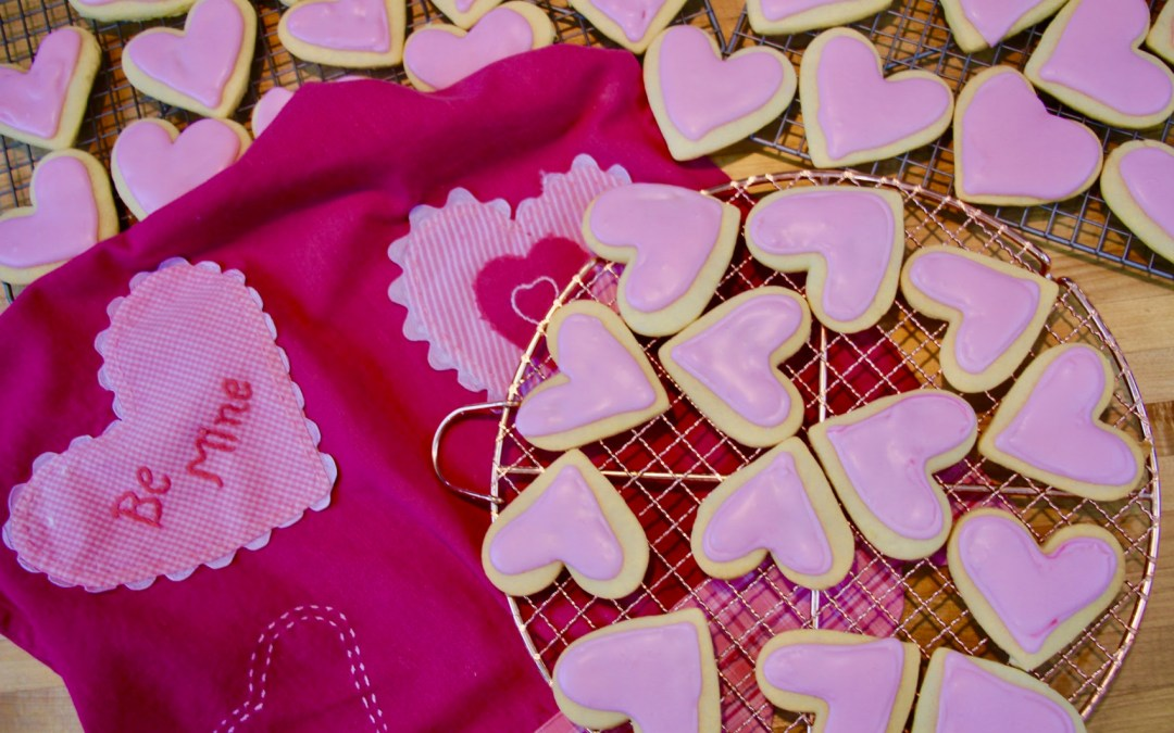Loving Pink Hearts For Your Valentine