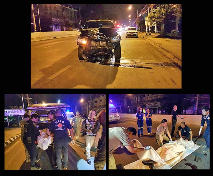 Thailand Motorcycle Accident
