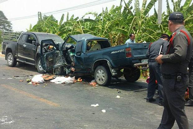 Traffic Collision in Thailand