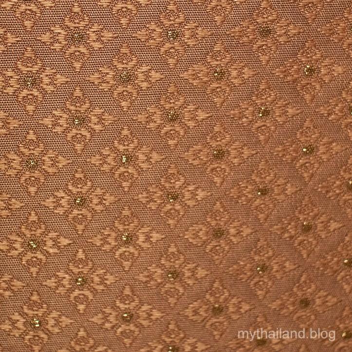 Brocaded Thai Silk