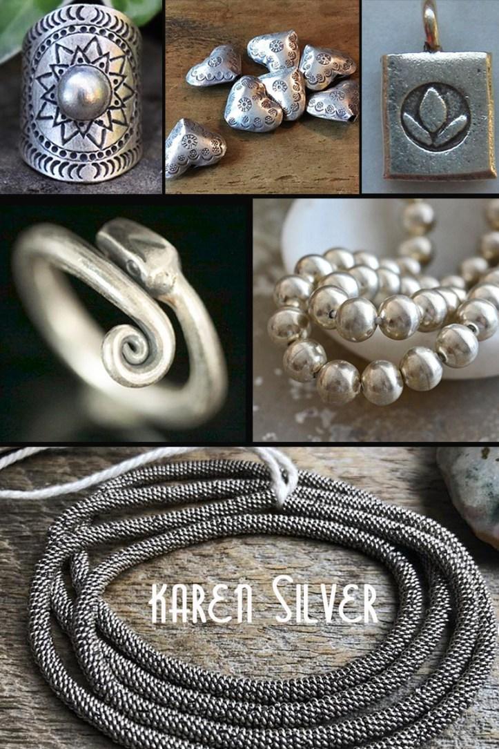 Karen Hill Tribe Silver