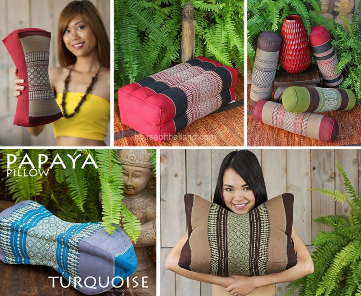Assorted Thai pillows