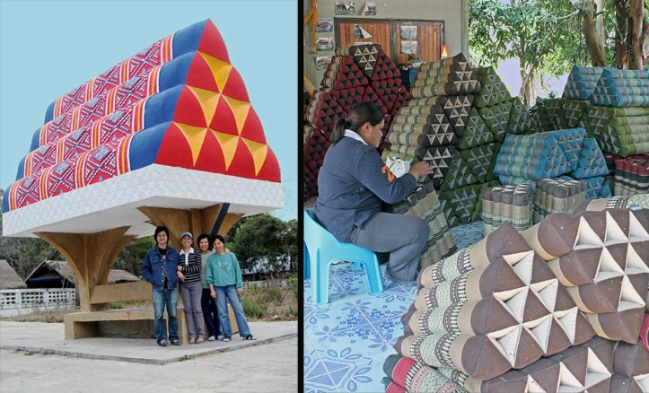 The Thai Pillow Making Village