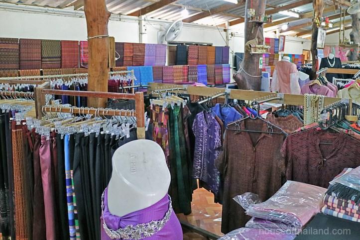 Thai silk in Thailand