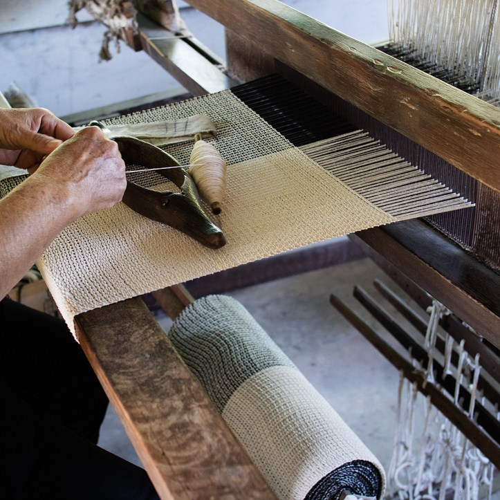 Cotton weaving in Pasang, Thailand