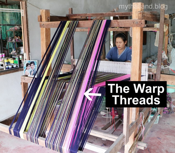 Chom Thong Warp Threads
